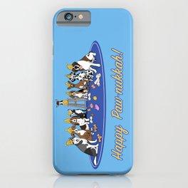 Happy Paw-nukkah! - Happy Hanukkah iPhone Case