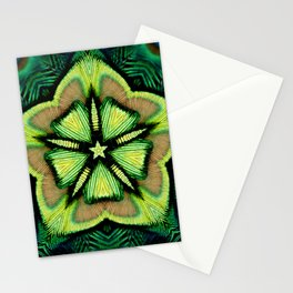 estrella pavo Stationery Cards