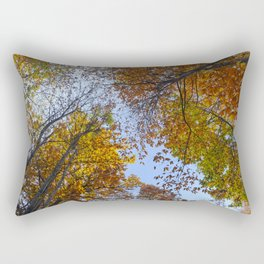 """Up in the air"". Forest colors Rectangular Pillow"