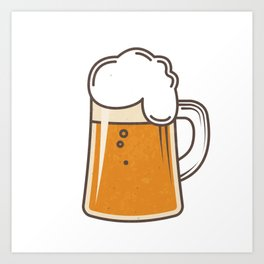 Beer beer beer  Art Print
