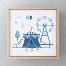 amusement park Framed Mini Art Print