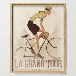 Vintage Racing Road Bike BicycleRoad Cycling Serving Tray