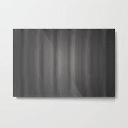 Carbon Stripe Pattern Metal Print