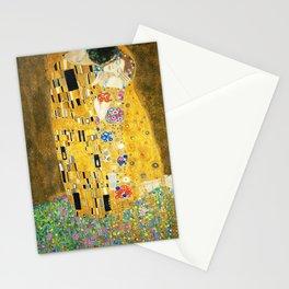 Gustav Klimt The Kiss Stationery Cards