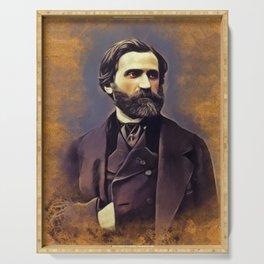 Giuseppe Verdi, Music Legend Serving Tray