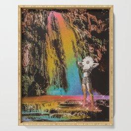 Rainbow Waterfalls Serving Tray