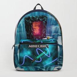 Mine craft sword Backpack