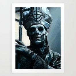 Papa Art Print