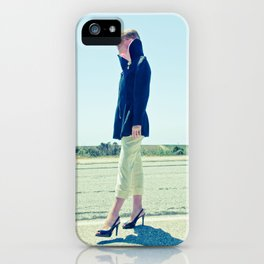 I Walked on the Moon iPhone Case