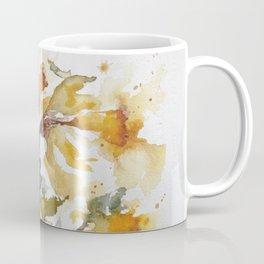 Essence of Daffodil in Watercolor Coffee Mug
