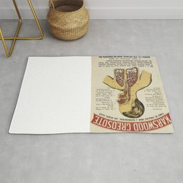 Vintage poster - Karswood Creosote Rug