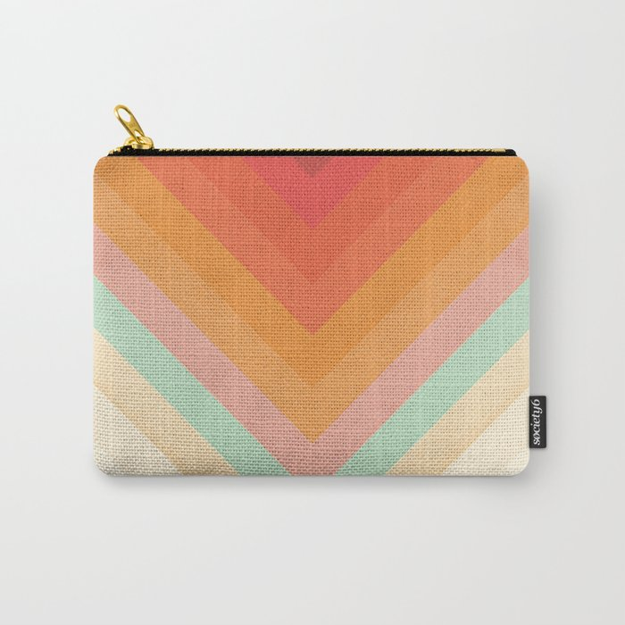 Rainbow Chevrons Tasche