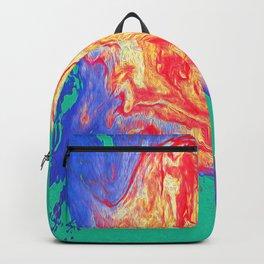 Foam Dream in Green Backpack