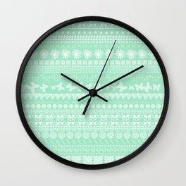 Minty-Licious Wall Clock