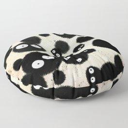 Cute Susuwatari Infestation Floor Pillow
