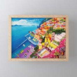 Beautiful Vernazza Framed Mini Art Print