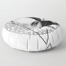 Homuncula: Pola Negri Floor Pillow