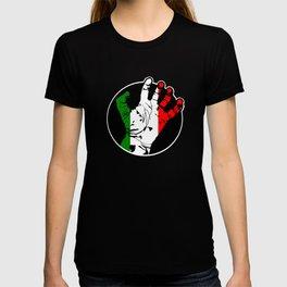 italy Hand T-shirt