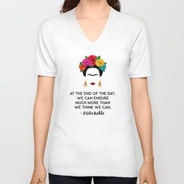Frida's Strength Unisex V-Ausschnitt
