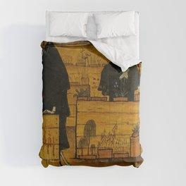 THE GARDEN OF DEATH - HUGO SIMBERG Comforters