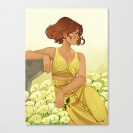 Arum Canvas Print