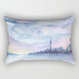 Once Upon Toronto - Skyline Rectangular Pillow