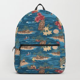 Hawaiian Vacation Backpack