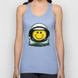Happy Astronaut Unisex Tank Top