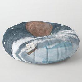the big splash Floor Pillow