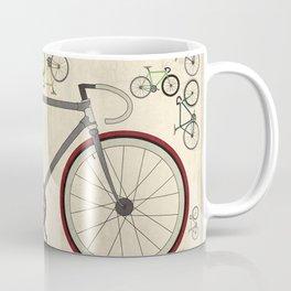 Love Fixie Road Bike Coffee Mug