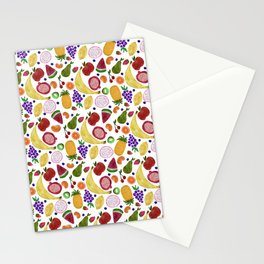 Whoever Heard of Snozberry Fruit Pattern Stationery Cards