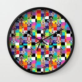 Jesus is The New Pattern 2 Wall Clock
