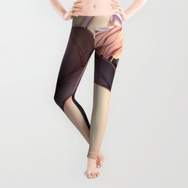 Cute Hentai Girl House Maid Upskirt In The Kitchen Ultra HD Leggings