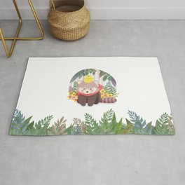 Roo&Pibi in the forest. Rug