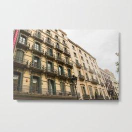 Apartment Living Metal Print
