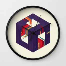 Portal Study Number 2 Wall Clock
