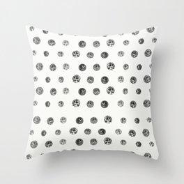 Bristle Polka Dot Throw Pillow