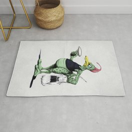 Space Duck Rug