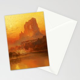 Thomas Moran - The Golden Hour, 1875 Stationery Cards