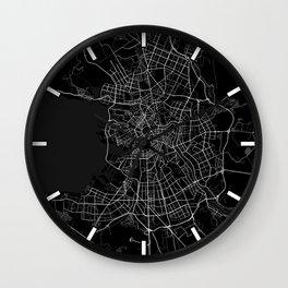 Saint Petersburg City in Russia - Full Moon Wall Clock