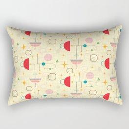 Atomic pattern umbrellas   #midcenturymodern Rectangular Pillow