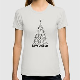 Happy Dance Day Christmas Tree T-shirt