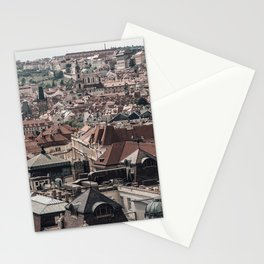 Prague Rooftop 04 Stationery Cards