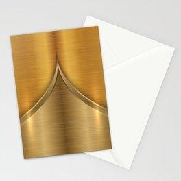Brushed Gold Stationery Cards