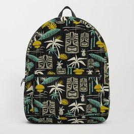 Island Tiki - Black Backpack