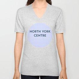 NORTH YORK CENTRE | Subway Station Unisex V-Neck