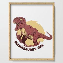 Mamasaurus Rex Serving Tray