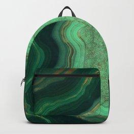 Malachite Texture 06 Backpack