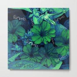 Flowers V4 VDC Metal Print