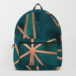Copper & Emerald Geo Backpack
